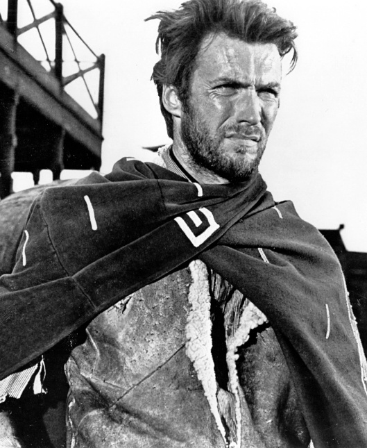 Clint Eastwood in A Fistful of Dollars