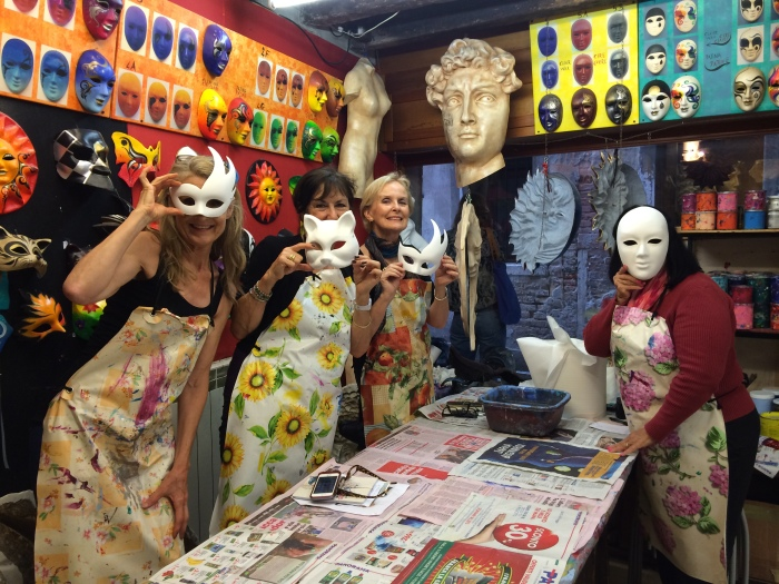 Mask-making in Venice. Incredibly cool!