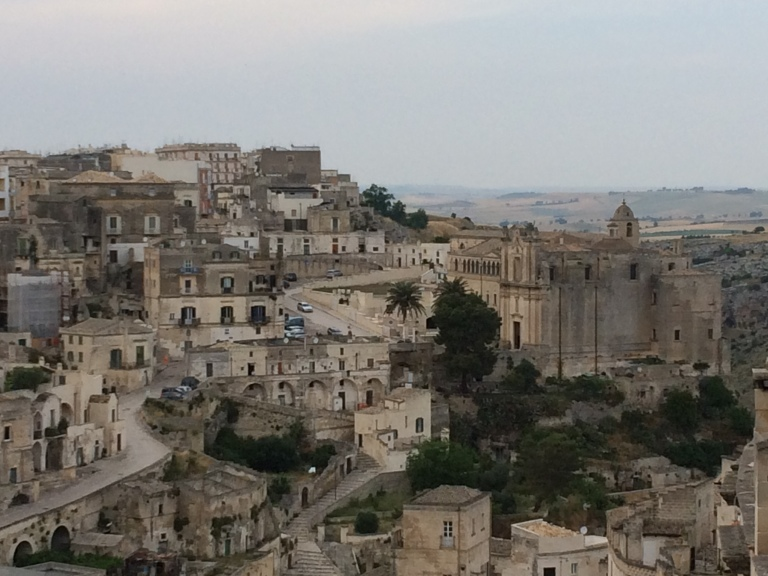 Moving Matera, city of stones and caves