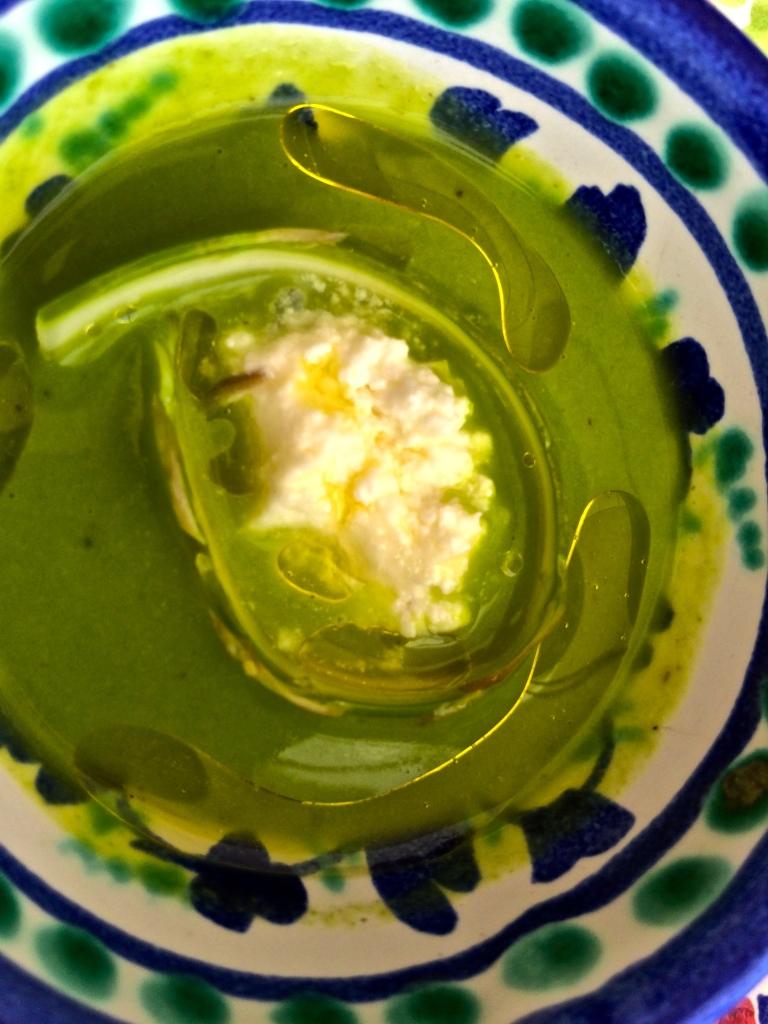 Asparagus soup at Ristorante La Sponda in Positano