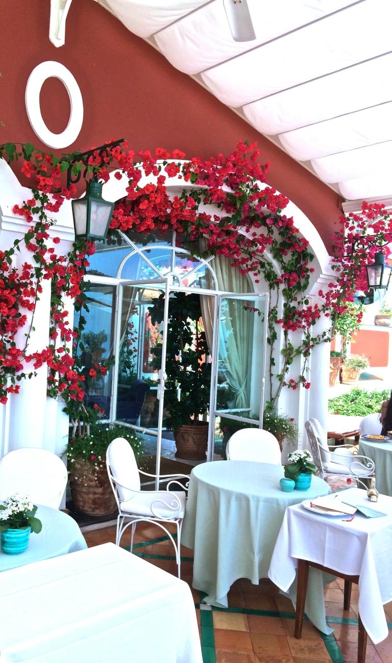 Le Sirenuse Hotel, Positano