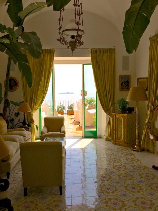The luxurious Hotel Le Sirunese