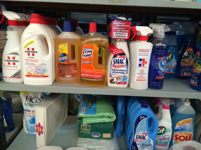 Even cleaning products
