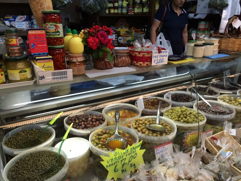 Olives~every kind you can imagine