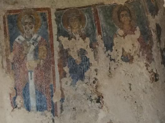 St. Barbara, St. Nicholas and St. Pantaleone