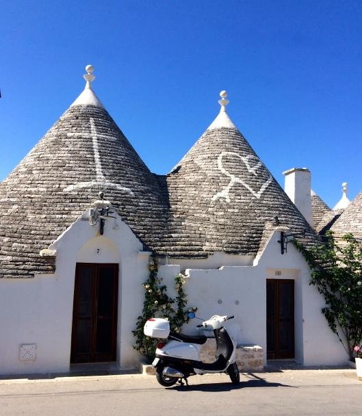 Trulli in Alberobello, Puglia