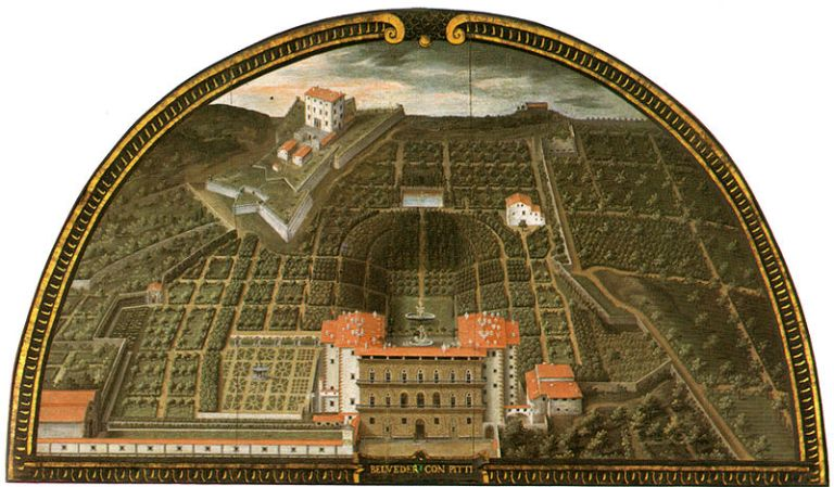 Forte Belvedere by Pitti Palace & Boboli gardens