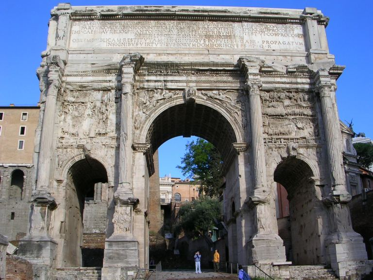 Arch_of_Septimus_Severus_East